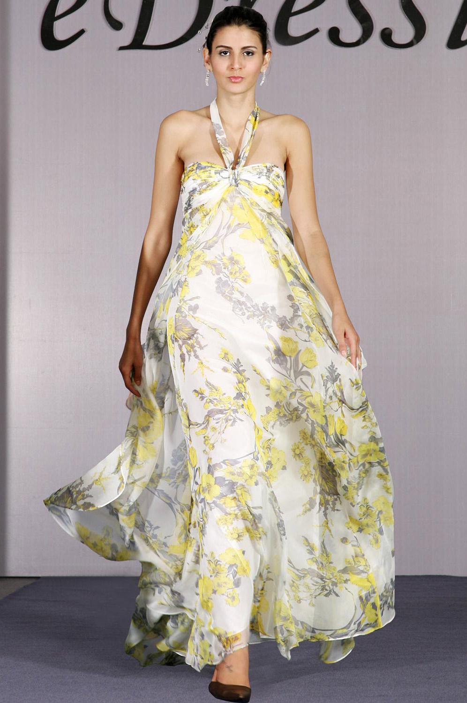 eDressit Gorgeous Floral Halter Evening Dress (00093768)