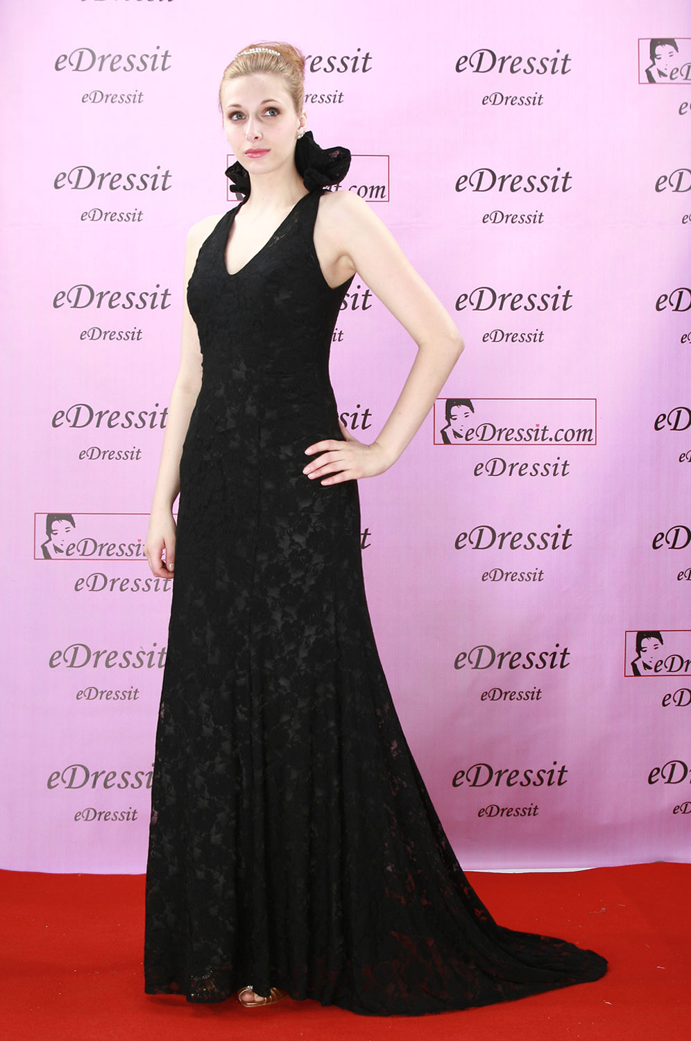 eDressit Black Sexy Party Evening Dress (00777000)