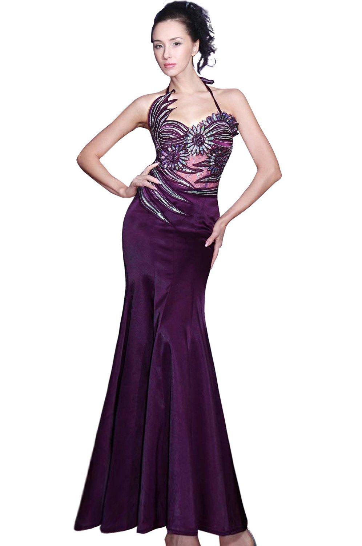 eDressit Magnifique Robe de Soirée Mariée Violette (00068806)