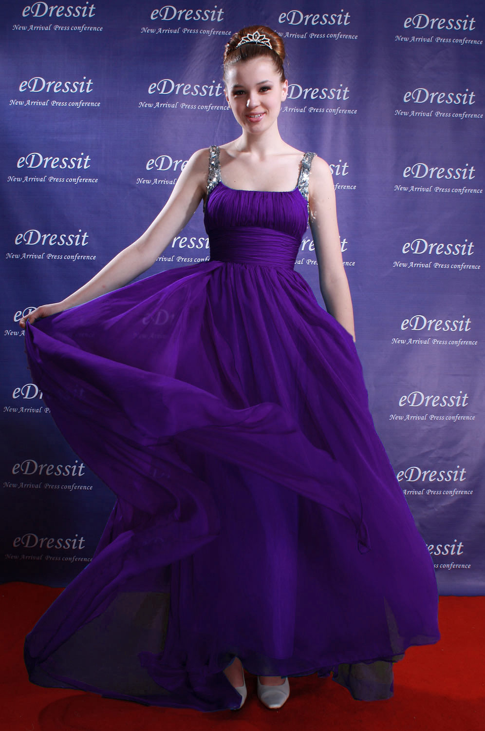 On Sale!! eDressit purple sequins evening prom dress (00080905C)