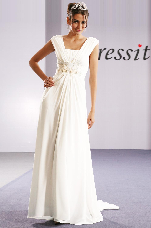 eDressit Elegant Diamanten und Perlen Abendkleid (00092007)