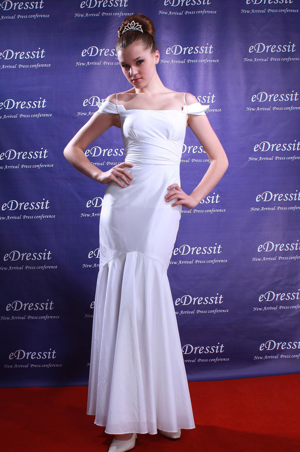 eDressit White Prom Gon/Evening Dress (02080207)