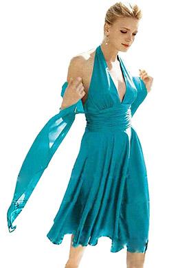 eDressit blaue Avondjurk/Trouwjurk/Abendkleidung (04660211)