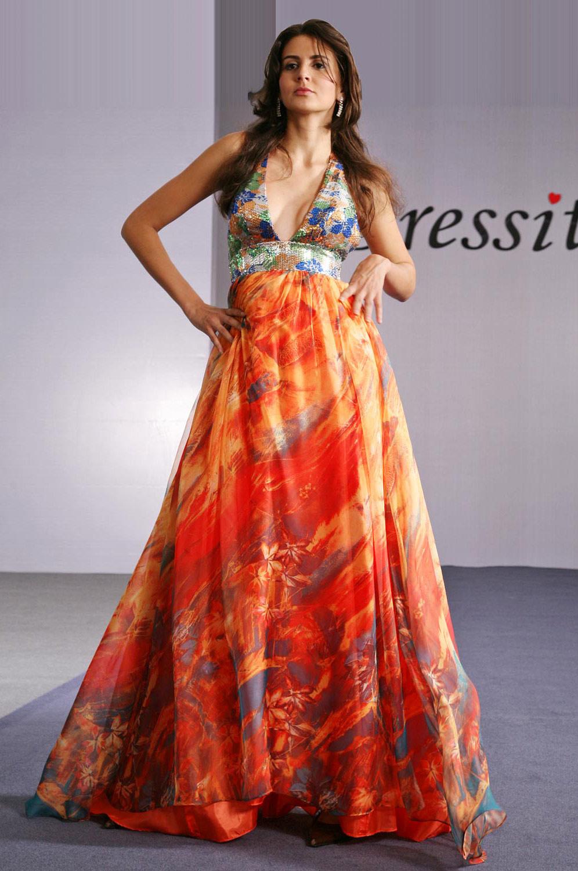 eDressit Gorgeous Halter and V neckline Evening Dress (00091968)