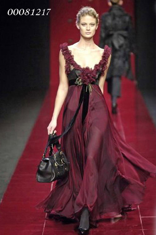 eDressit Deep Red Ball Gown Party Evenig Dress (00081217)