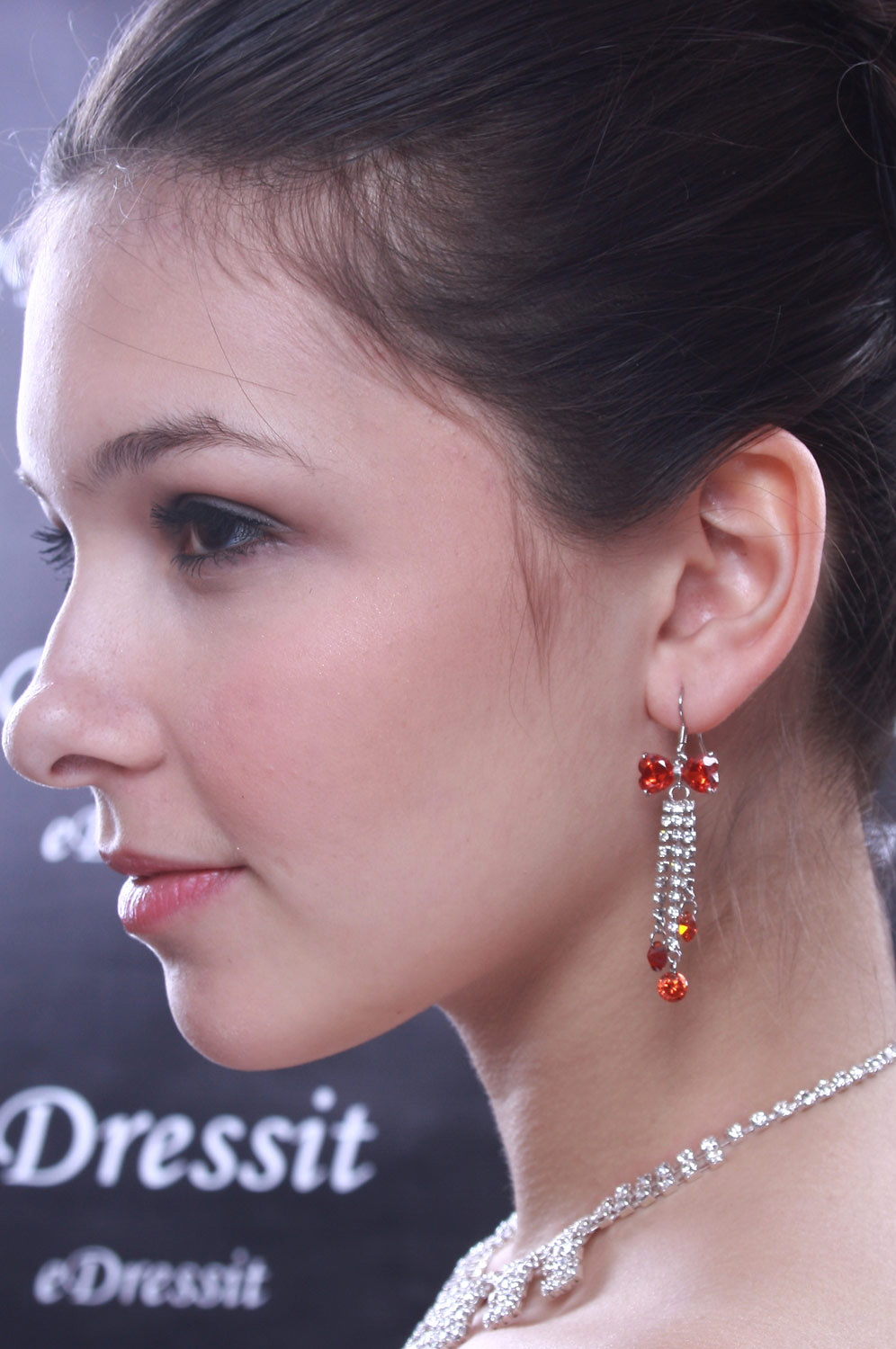 eDressit New Red Brightly  Earring (11090102)