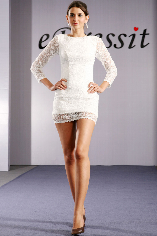 eDressit Robe de Soirée Manches Longues à la Mode (04093107)