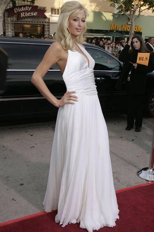 eDressit Paris Hilton Weißes Abendkleid/Tanzkleid (00776407)
