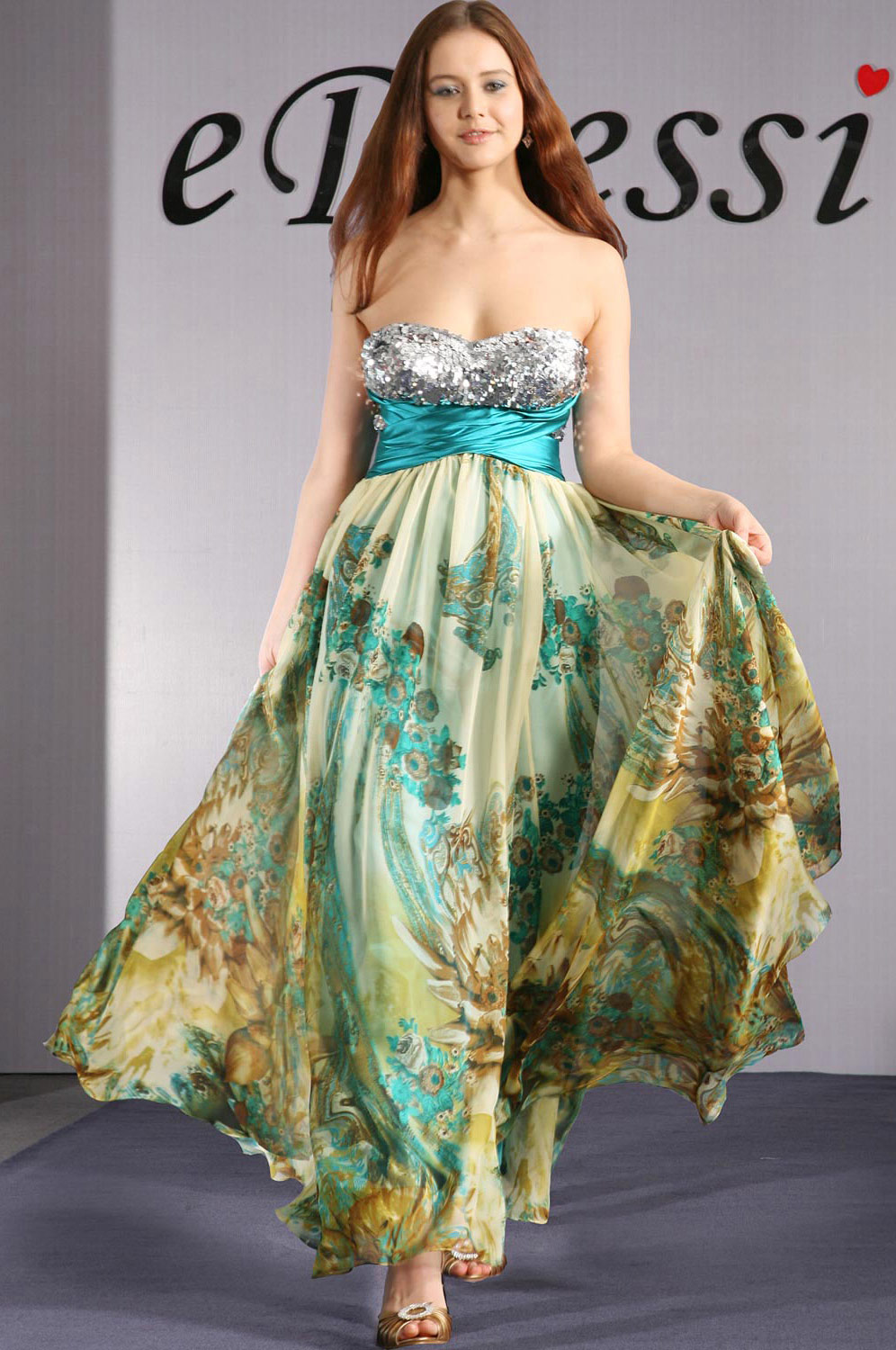 eDressit Strapless Elegant Party Dress (00096368)