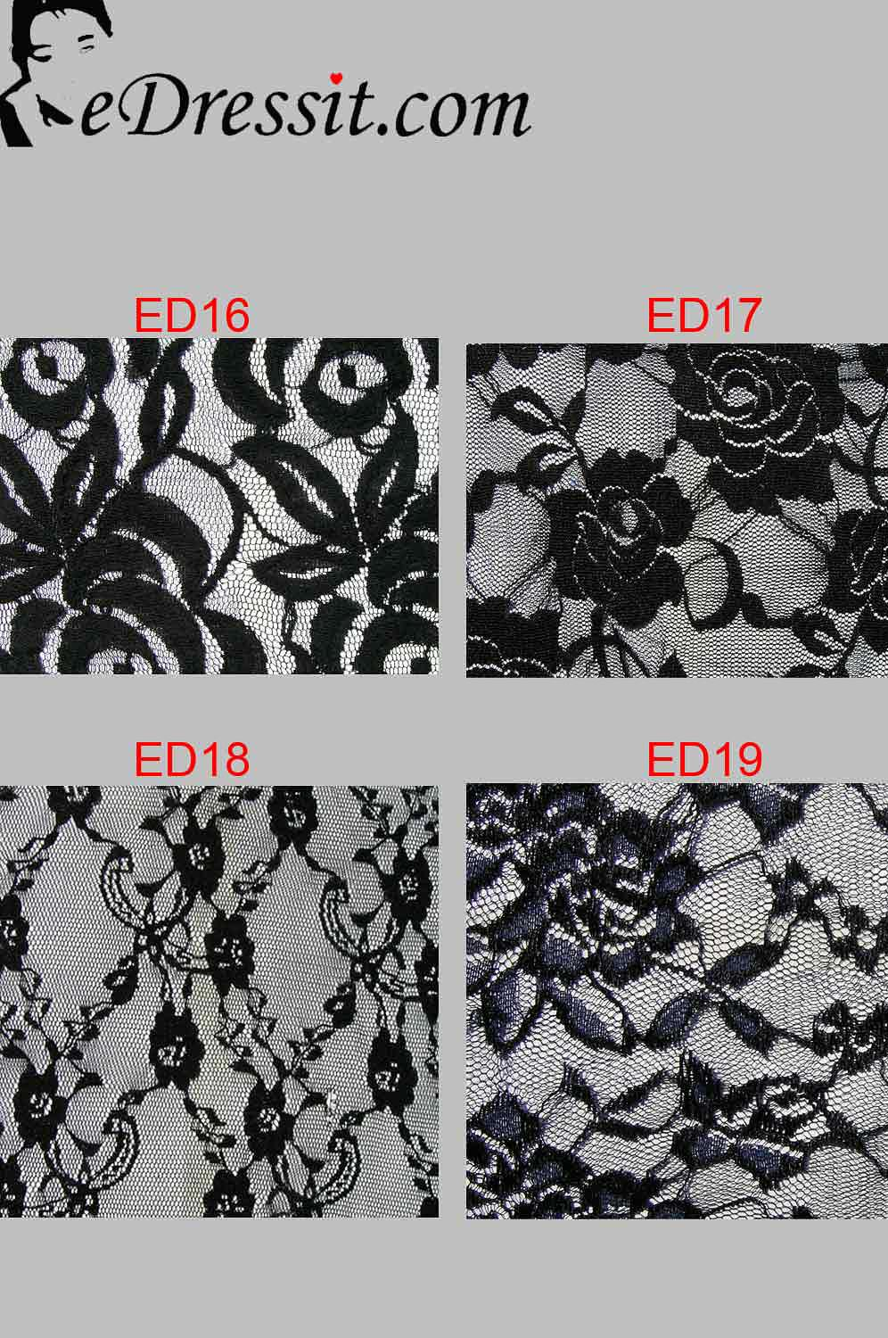 eDressit Lace Fabric (EDlace-2)