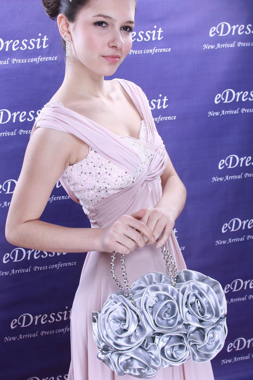 eDressit Women's Grey Handbag/Purse (08090308)