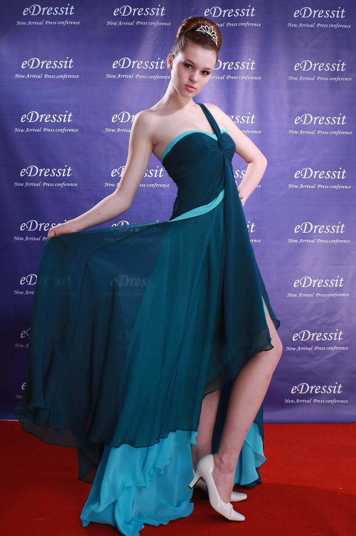 eDressit Robe de Soirée Sexy Bretelle seule (00084405)