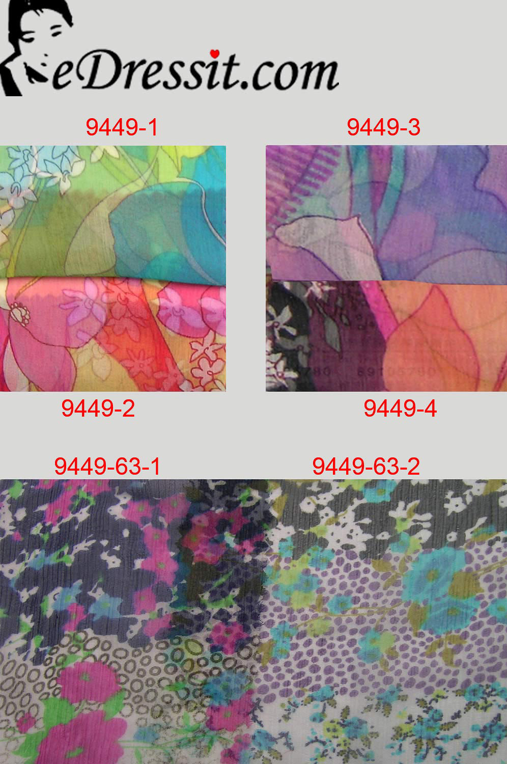 eDressit 100% Pure Silk Fabric (9449-0363)