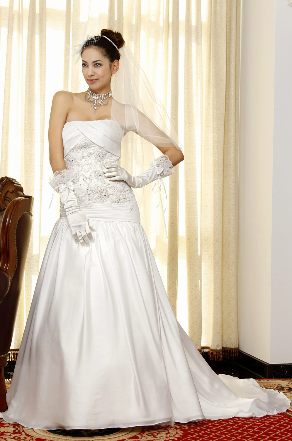 eDressit Pure White Fabulous Wedding Gown (01092707)