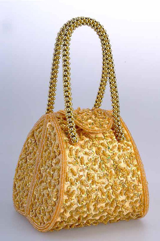 eDressit Goldene Frauen-Handtasche/Portemonnaie (08130124)