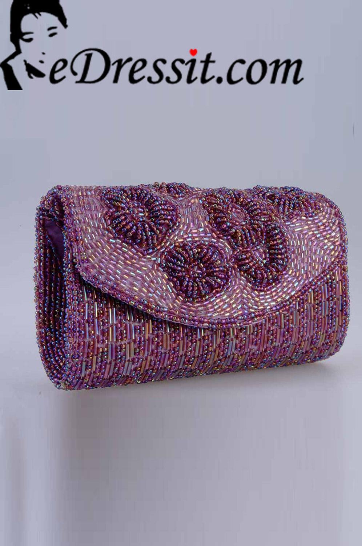 eDressit женский фиолетовый клатч(08140206)