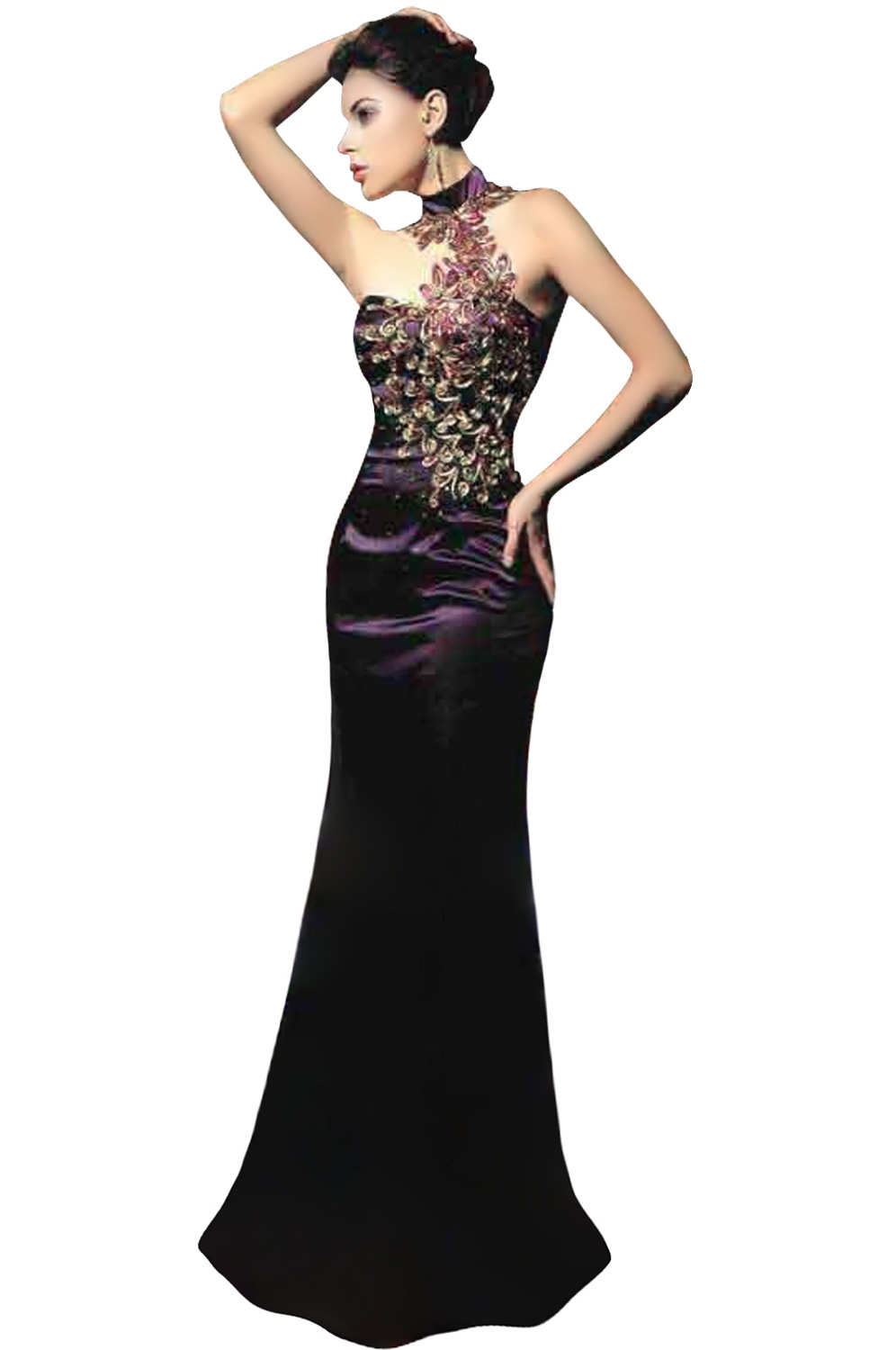 eDressit Purple Ball/Evening Promotion Dress (00067806)