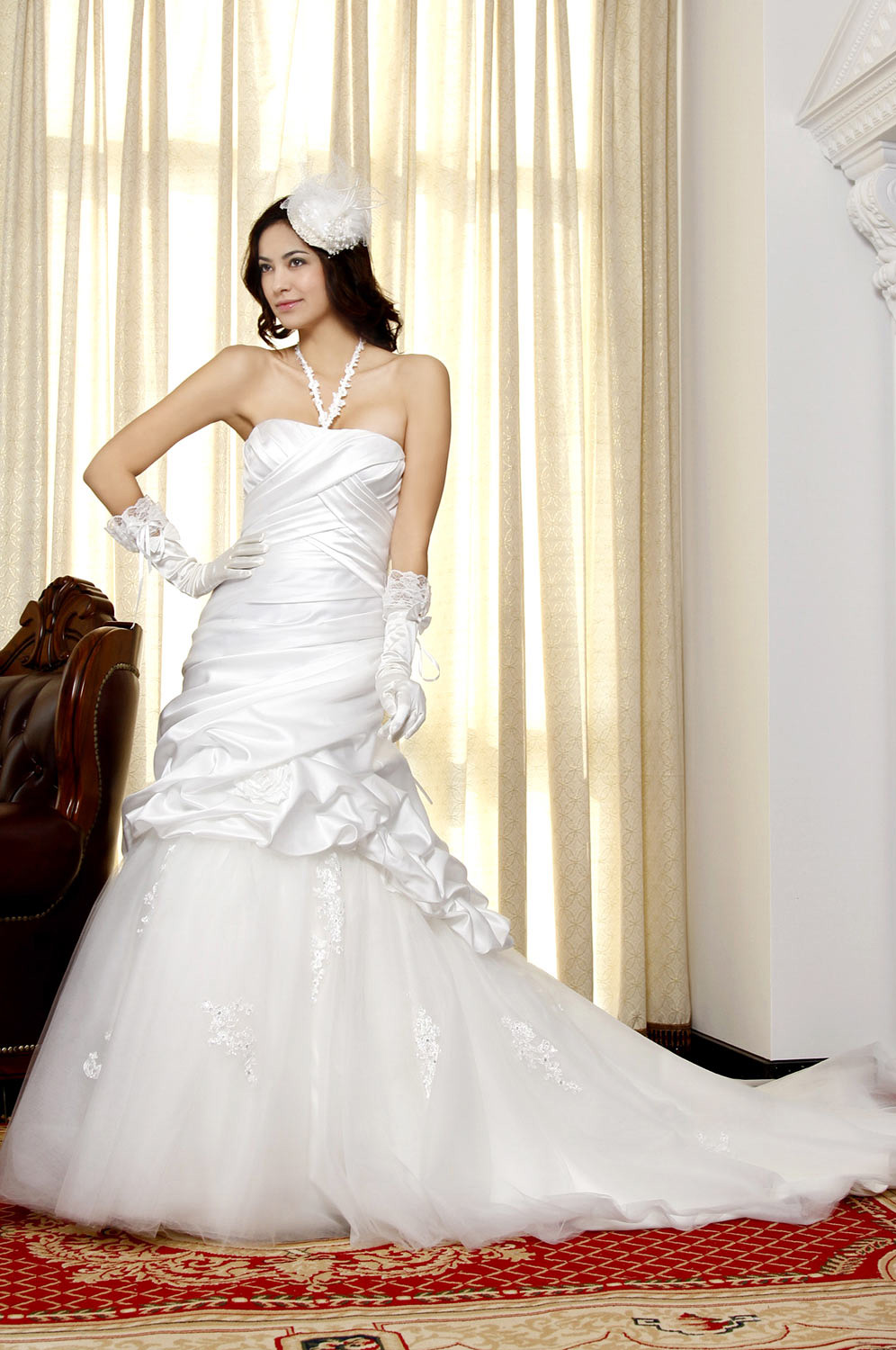 eDressit Pure White Amazing Wedding Gown (01092607)