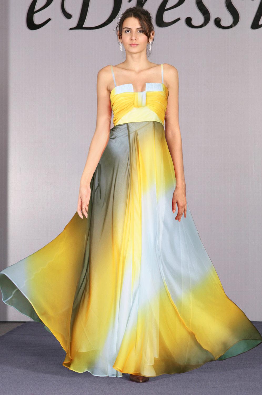 eDressit schräge Farbe Seide Chiffon Abendkleid (00096956)