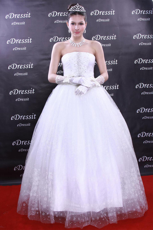 eDressit Weiss Abendkleid Ballkleid Prom Hochzeit(Maßanfertigung) (01090707)
