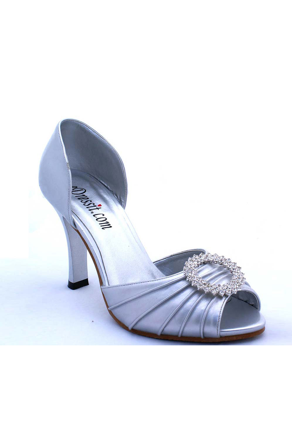 eDressit SEDARABY CARRIE SILVER D'ORSAY STOLEN SHOES (09770326)