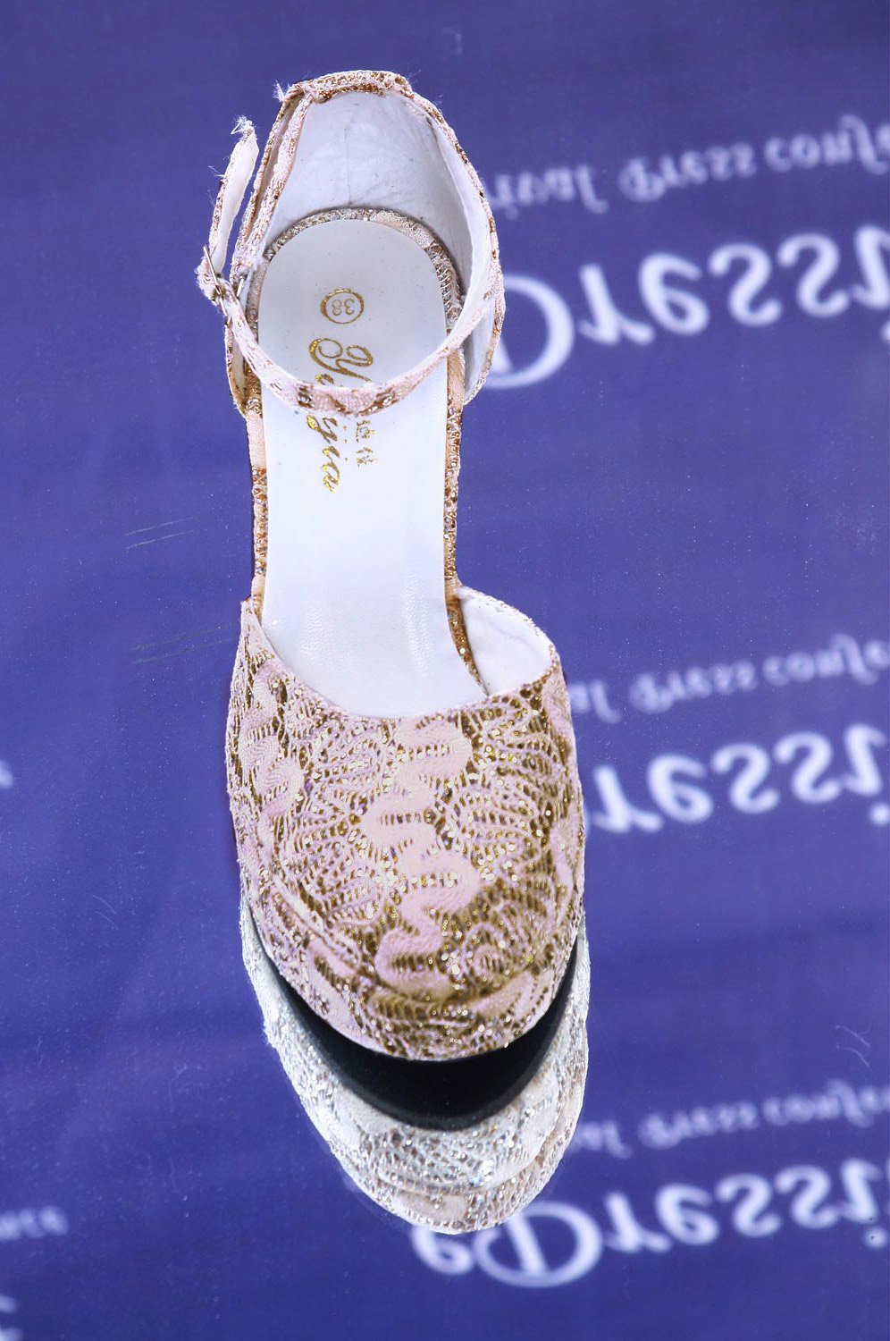 eDressit chaussures or (09090214)