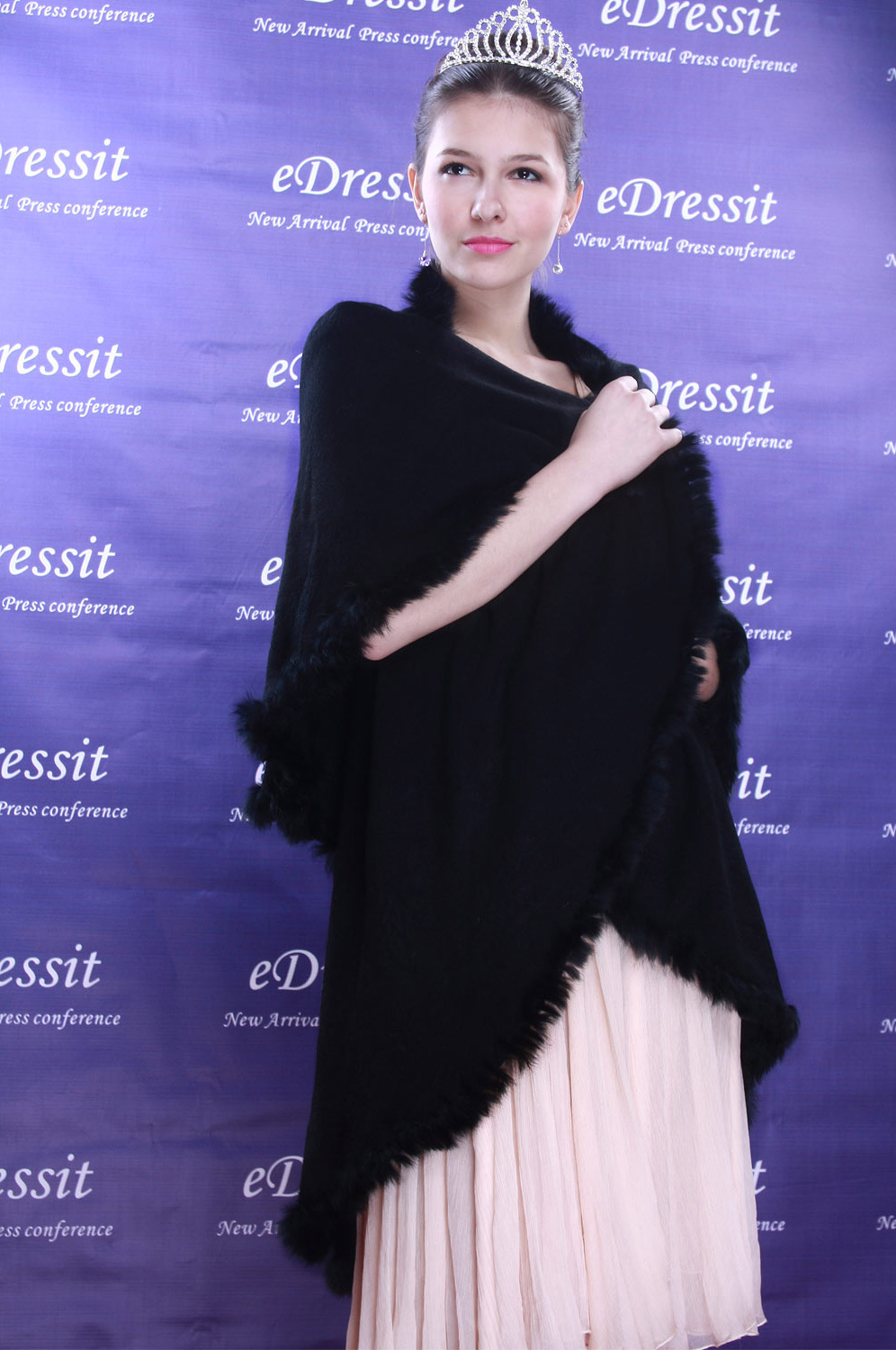 eDressit Black Shawl/Wrapa/Bolero (14090200)