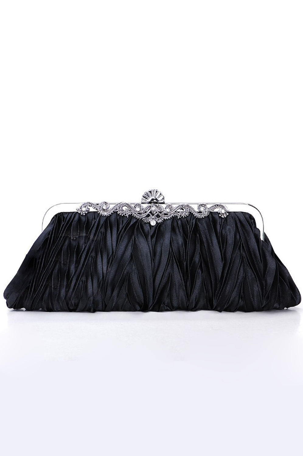 eDressit Black Lady Bag Handbag Shouler/Clutch BAG (08100200)
