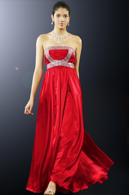 eDressit Maria Menounos Robe de soirée  Charmante Sans Bretelles (00101102)