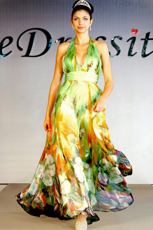 eDressit Стильное  платье с  v-декольте (00099668)