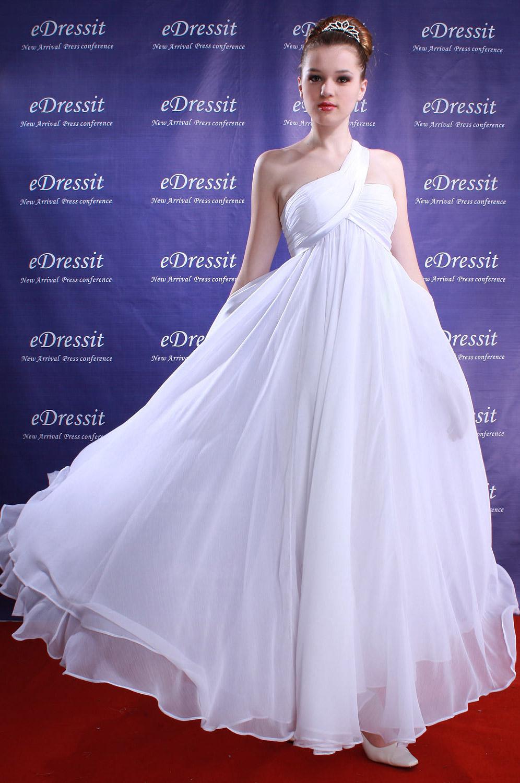 eDressit Jennifer Lopez Robe de Soirée Magnifique Blanche (00084207)