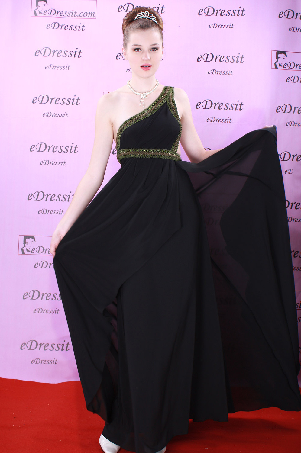 eDressit Black Elegant Prom Gown Evening Dress (00082500)