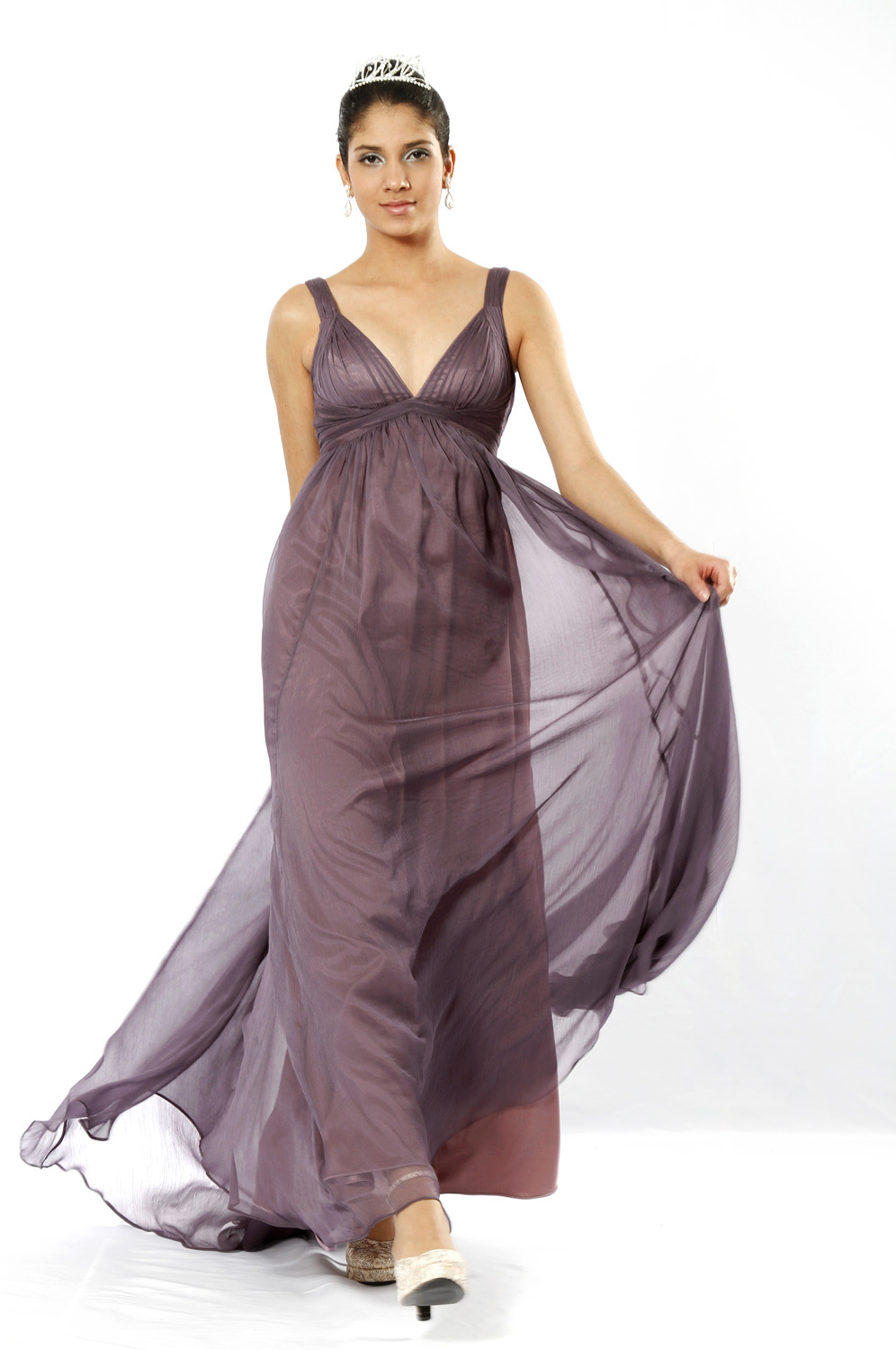 eDressit Elegant V-Cut Evening Dress (00098506)