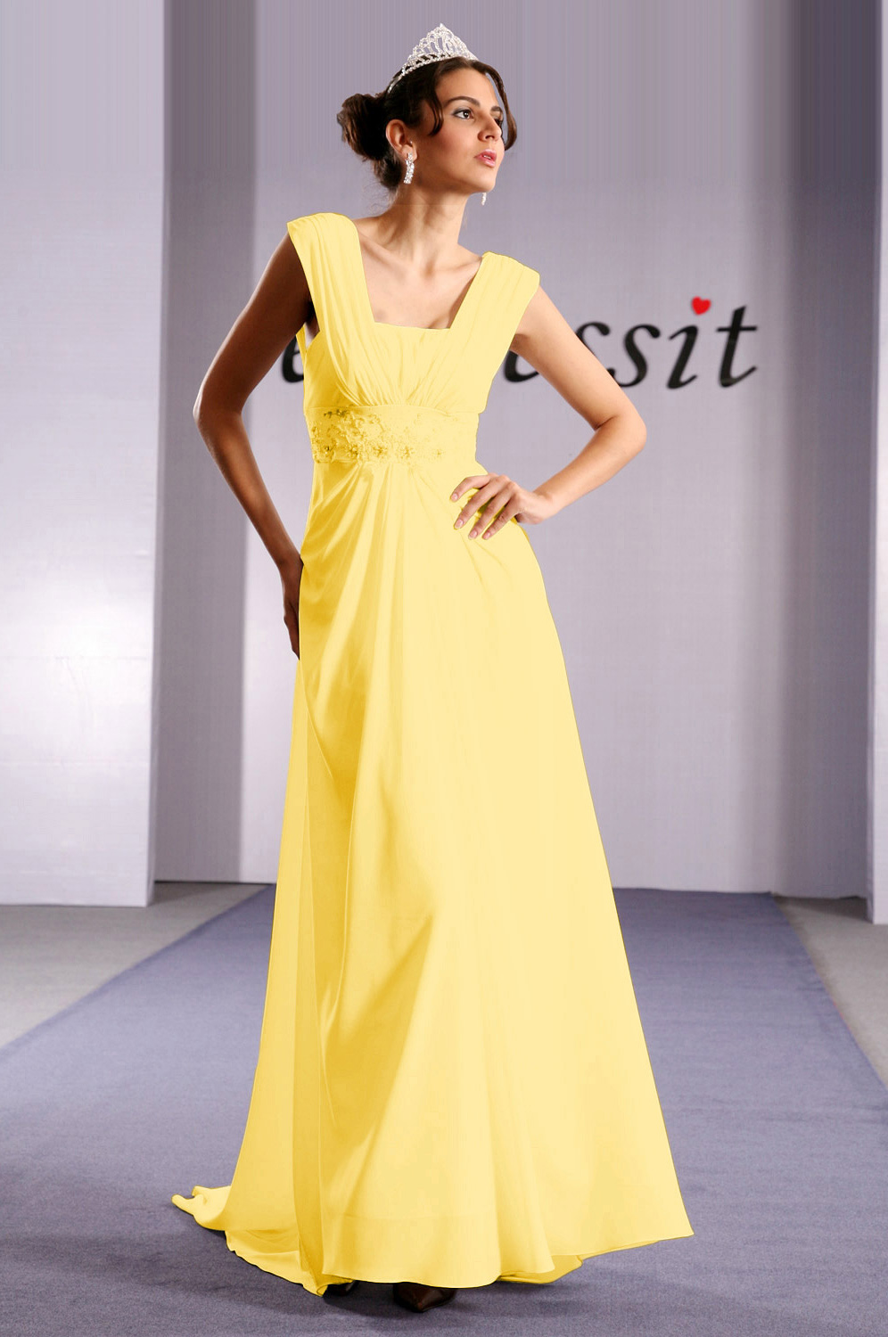 On sale!! eDressit yellow prom dress evening dress (00092007e)