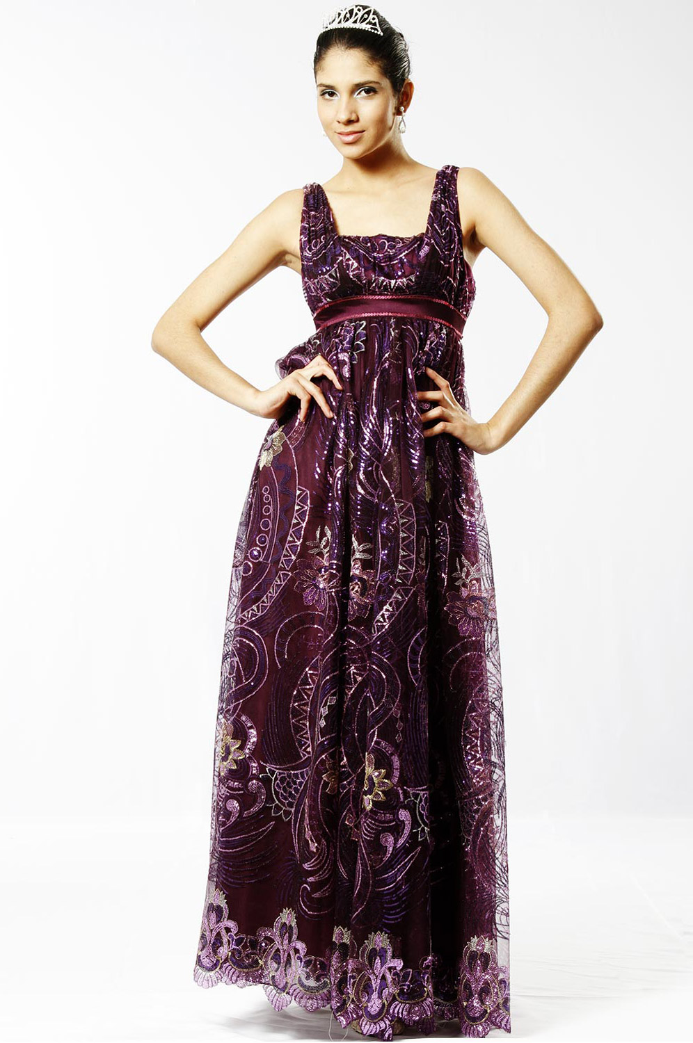 eDressit Fully Sequined Evening Dress (00097206)