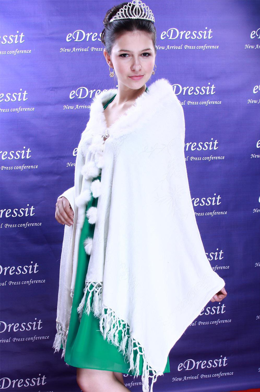 eDressit White Shawl/Wrapa/Bolero (14090107)