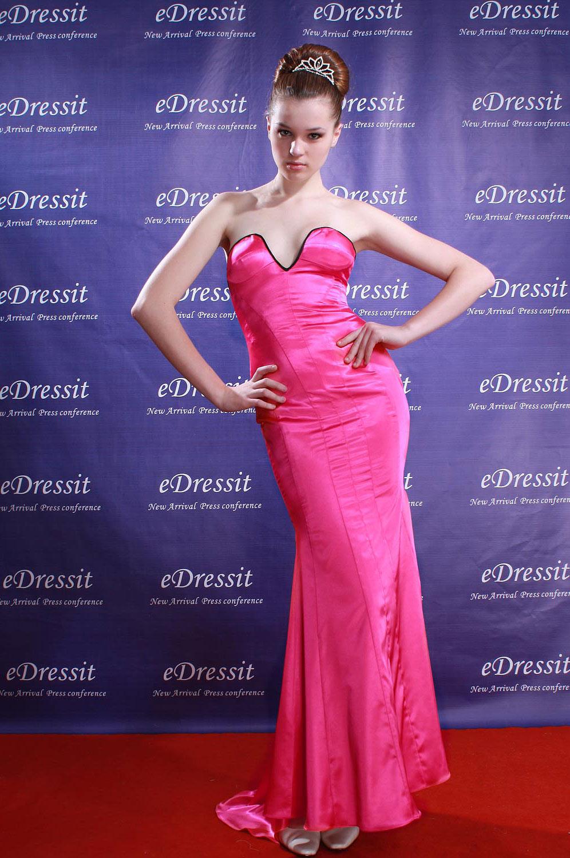 eDressit Sexy Pinkes Abendkleid (00084112)