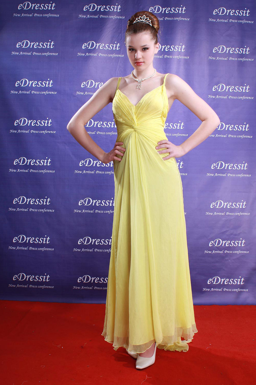 eDressit Gelbes Angelina Jolie  Abendkleid Ballkleid Prom (00778503b)