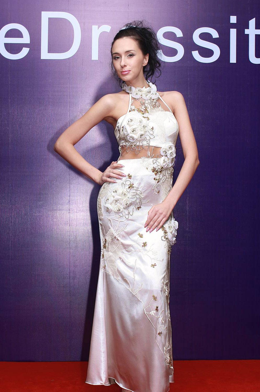 eDressit White Prom robe élégante tenue de soirée (00069507)