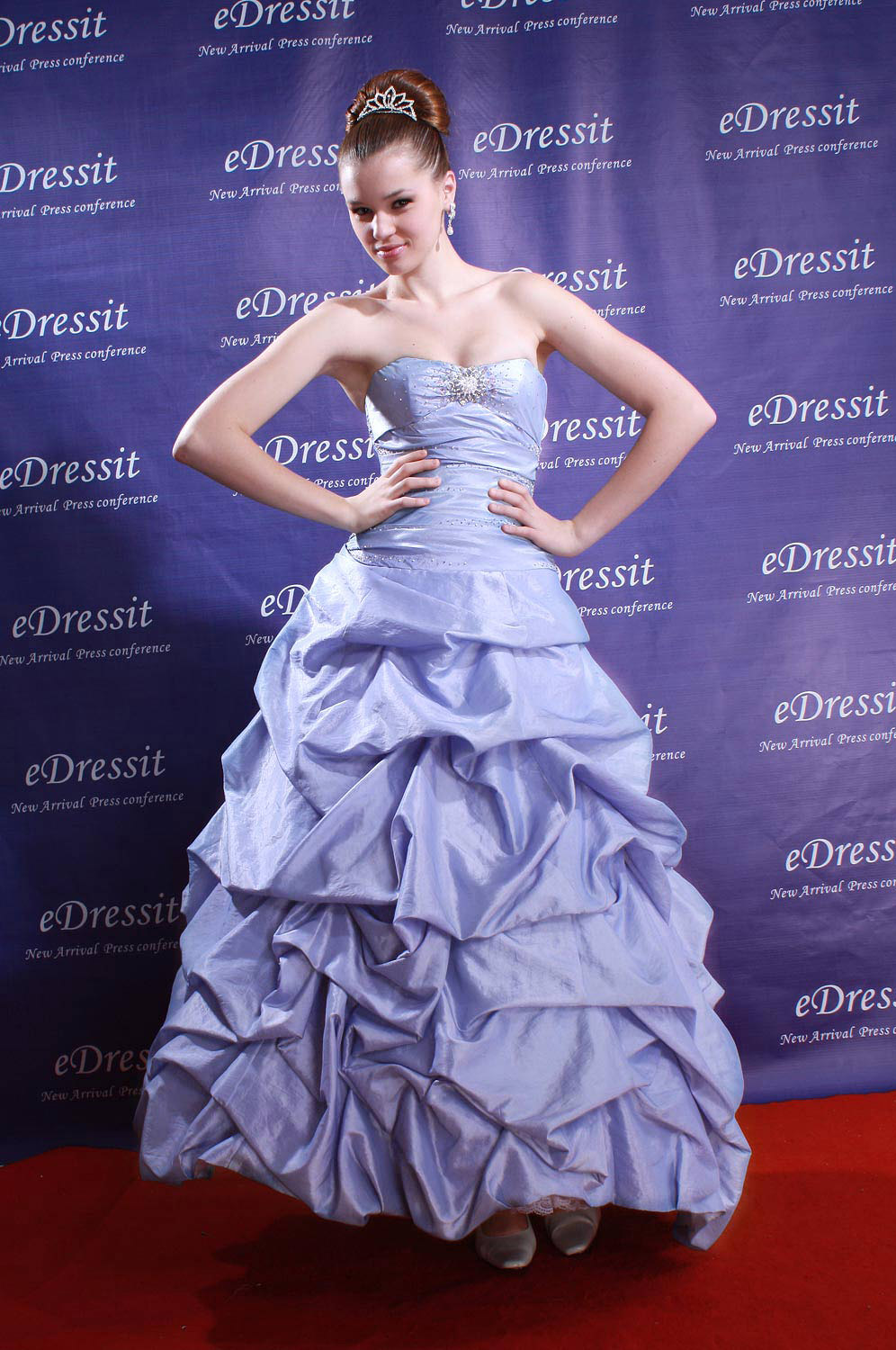eDressit Blue Luxurious Evening  Dress (01771144)