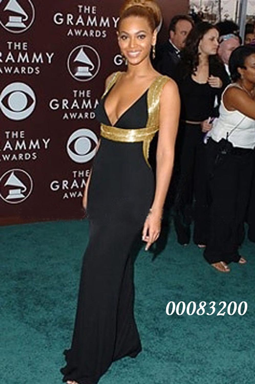 eDressit Beyonce Knowles Schwarz Ballkleid Abendkleid,Tantzenmode Prom (00083200)