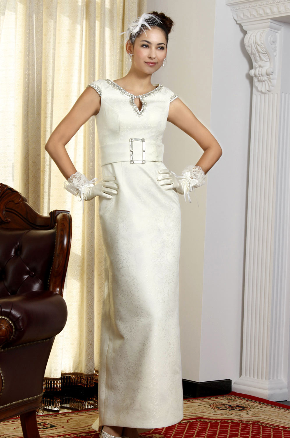 eDressit White Chinese Style Wedding Gown (01093007)