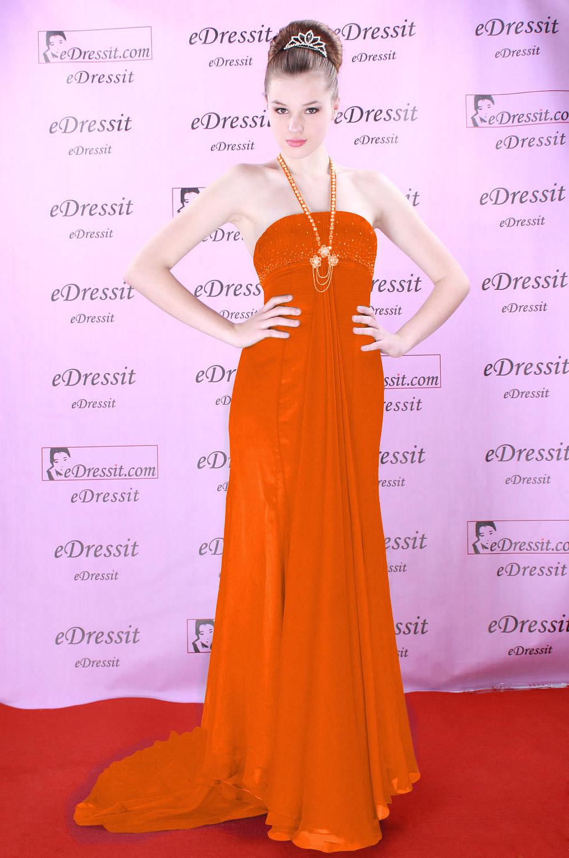 On Sale!! eDressit organge evening prom dress (00083911f)