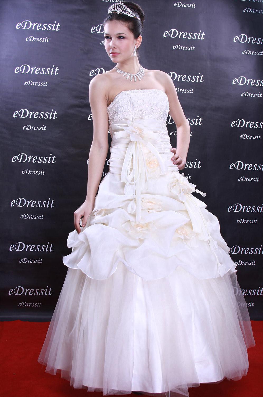 eDressit Weiss Abendkleid Ballkleid Prom Hochzeit(Maßanfertigung) (01091707)