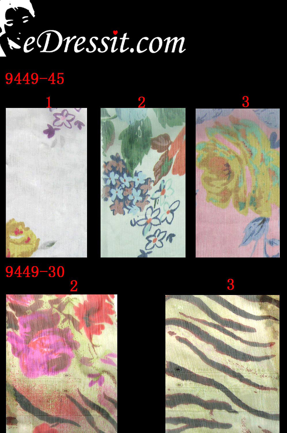 eDressit 100% Pure Silk Fabric (9449-2)