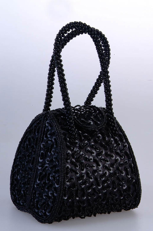 eDressit Schwarze Frauen-Handtasche/Portemonnaie (08130100)