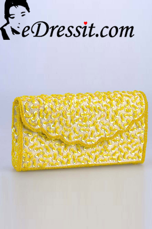 edressit sac à main jaune (08140103)