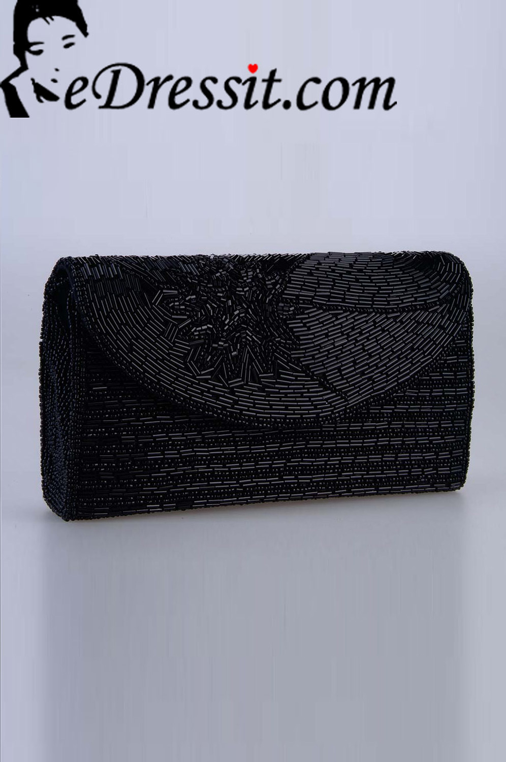 eDressit Women's Black Bag/Purse (04140800)