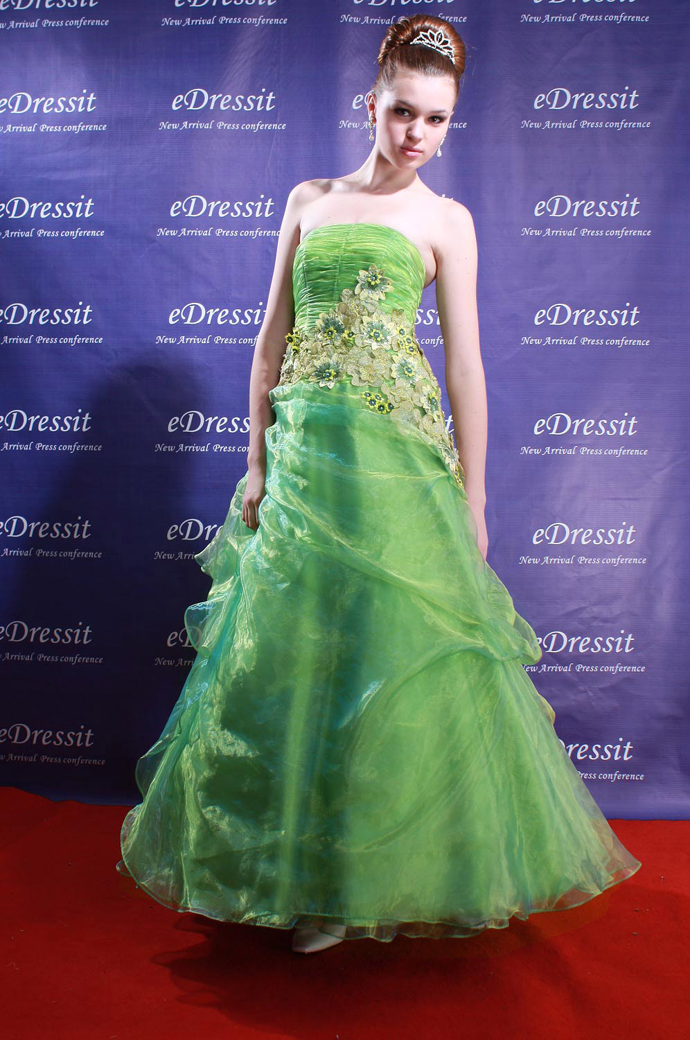 50% ON SALE!  eDressit Prom Gown+free petticoat (01080204)
