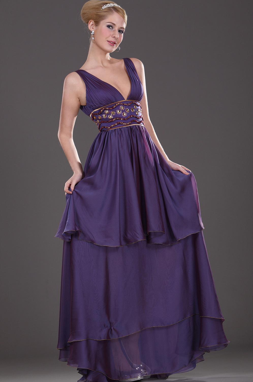 eDressit V-escote Sexual Vestido de Noche (00107006)